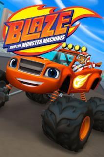 Poster Blaze e le Mega Macchine