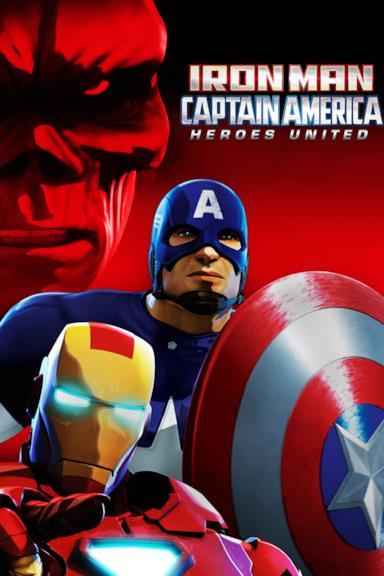 Poster Iron Man & Captain America: Heroes United