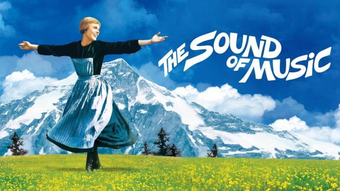 Maria von Trapp nel poster di The Sound of Music