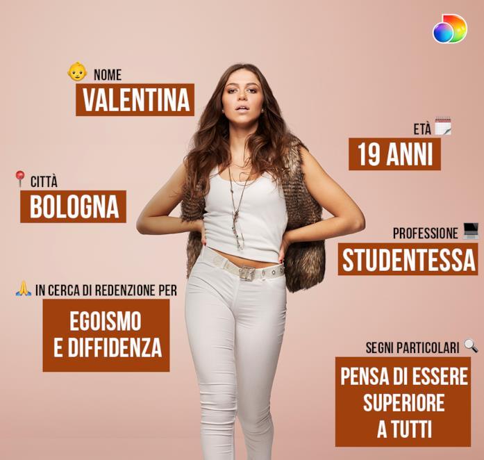 La scheda di Valentina