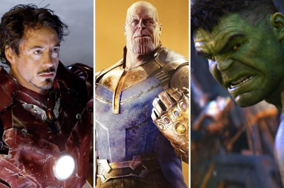 Iron Man, Thanos e Hulk