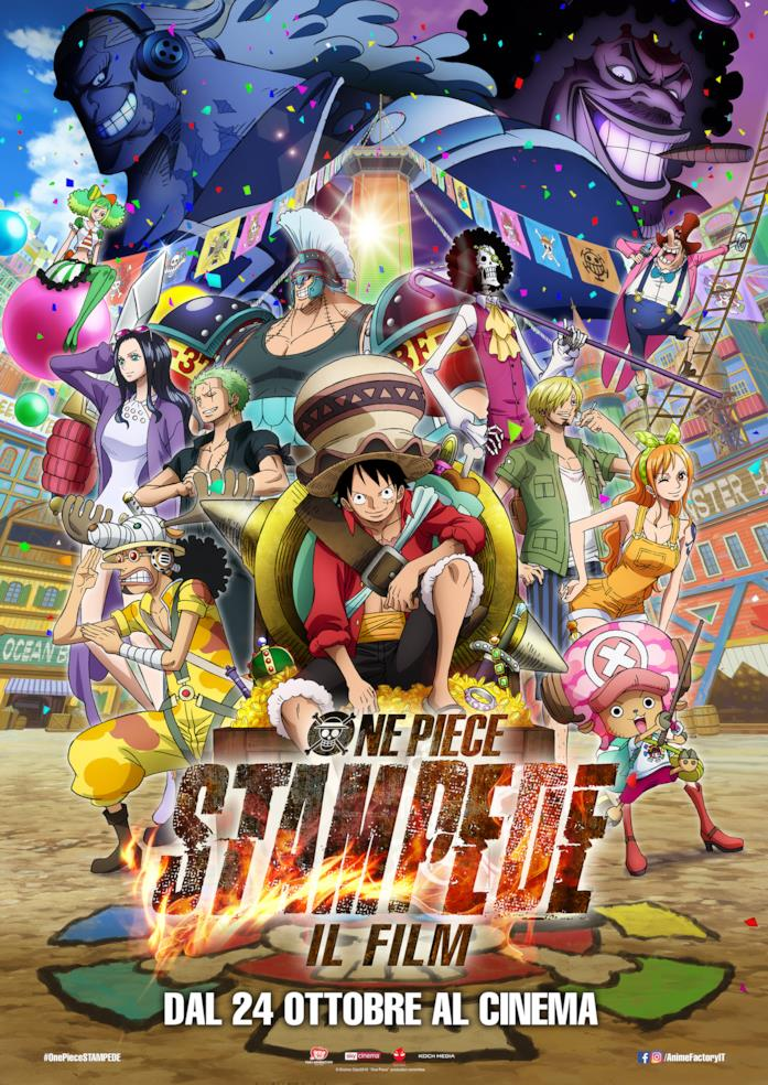 One Piece Stampede il film in italiano