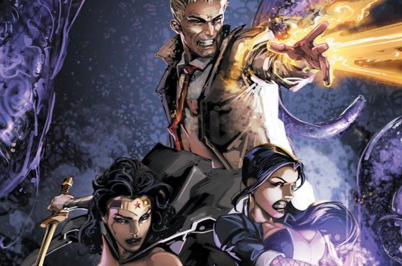 Un'immagine tratta dai fumetti della Justice League Dark