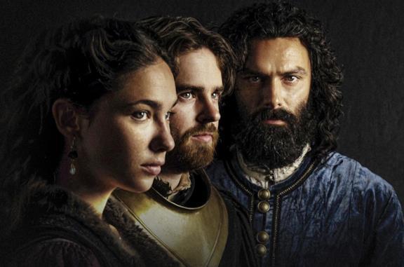 Matilda De Angelis, Aidan Tuner e Freddie Highmore in Leonardo