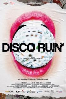 Poster Disco Ruin - 40 anni di club culture italiana
