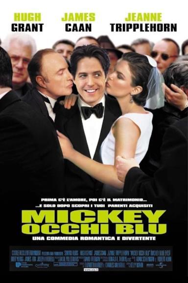 Poster Mickey occhi blu