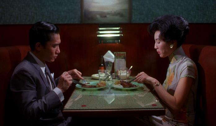 I protagonisti di In the mood for love pranzano al ristorante