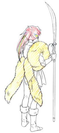 Setsuna è forse stata scelta dal mokomoko come nuova padrona