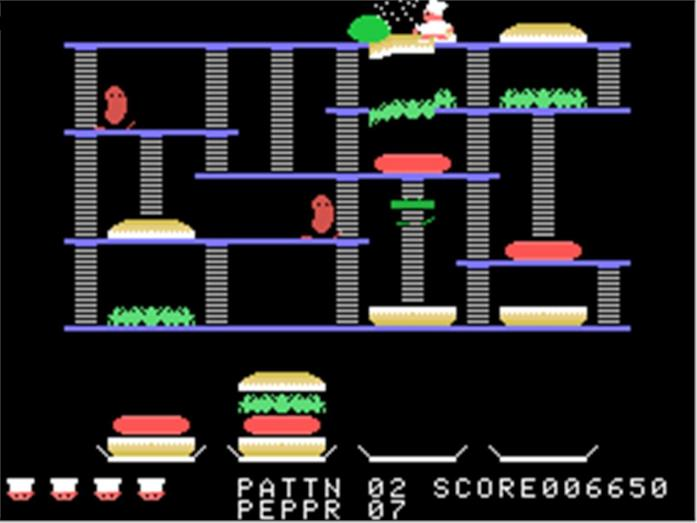 Il gioco Burger Time