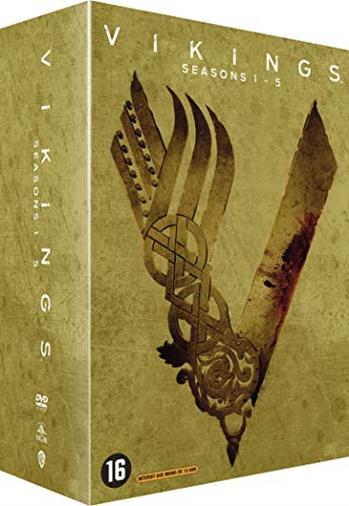 Cofanetto DVD di Vikings - Seasons 1-5