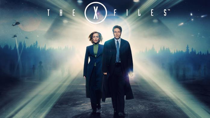 Mulder e Scully in un'immagine dall'undicesima stagione di X-Files