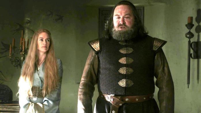 Lena Headey e Mark Addey in Game of Thrones