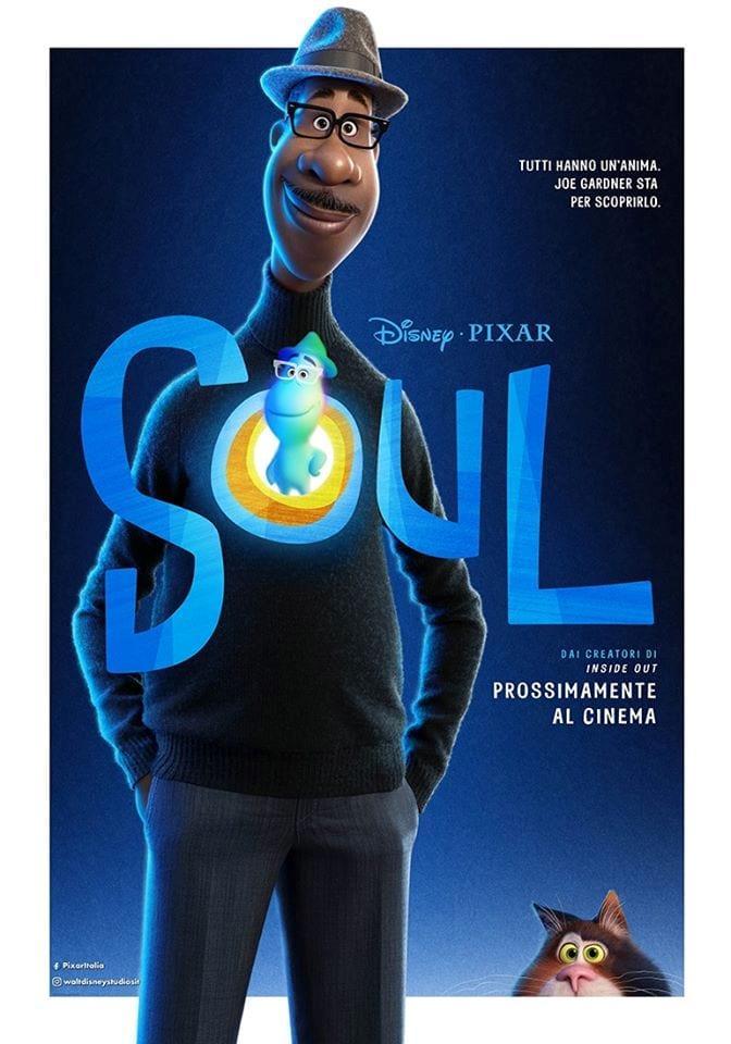 Soul - poster del film Disney Pixar
