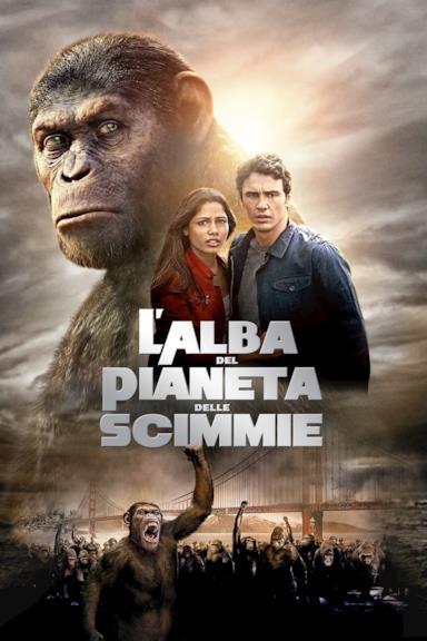 Poster L'alba del pianeta delle scimmie