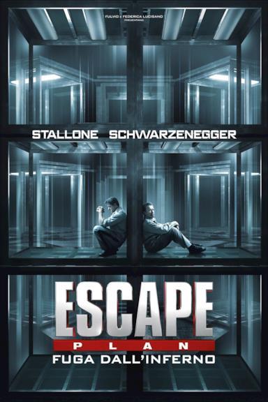 Poster Escape Plan - Fuga dall'inferno