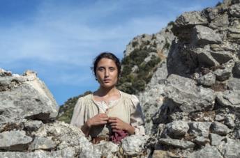 Marianna Fontana in una scena del film Capri-Revolution