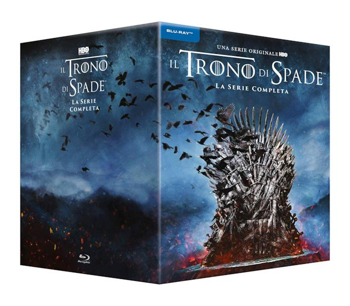 Copertina del cofanetto Blu-ray de Il Trono di Spade