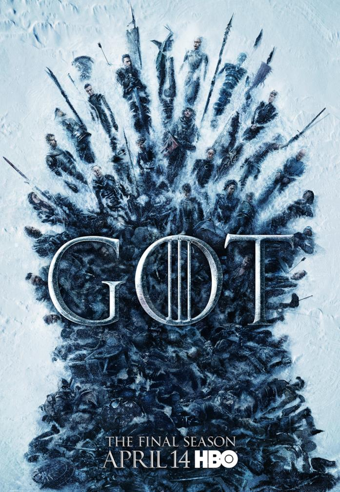 Locandina di Game of Thrones 8
