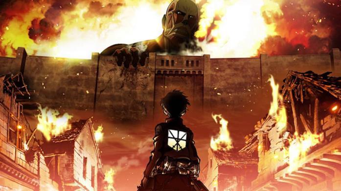 Attack on Titan protagonista e nemici