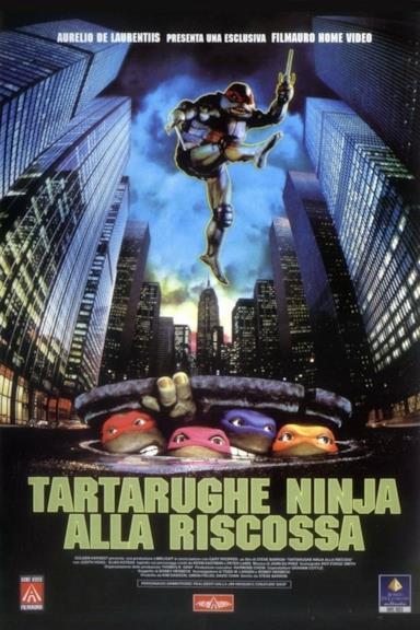 Poster Tartarughe Ninja alla riscossa
