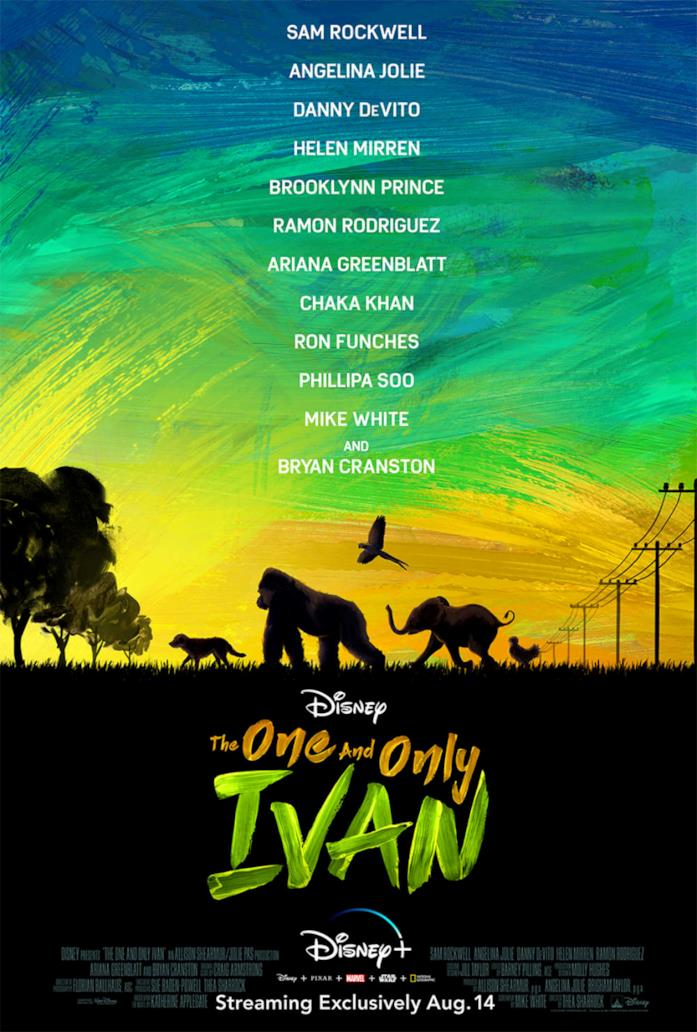 Gli animali di The one and only Ivan