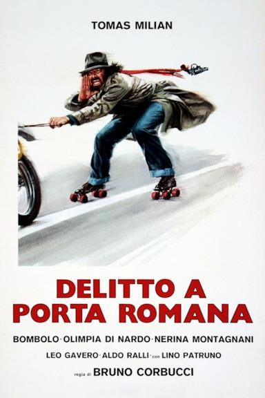 Poster Delitto a Porta Romana