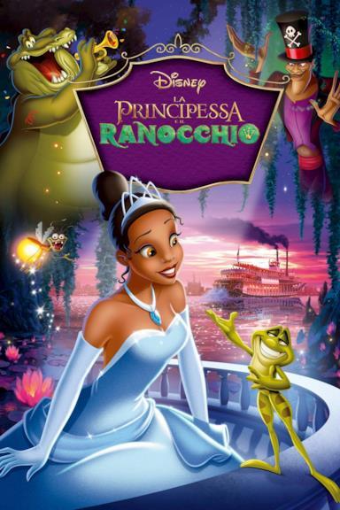 Poster La principessa e il ranocchio