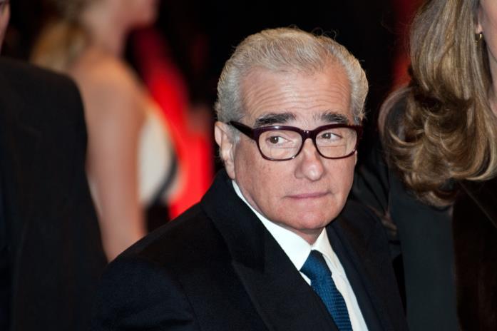 Un primo piano di Martin Scorsese alla premiere di Shutter Island