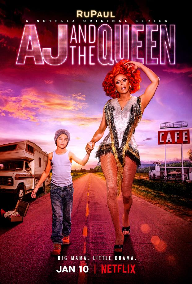 AJ and the Queen, poster con RuPaul
