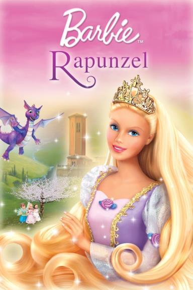 Poster Barbie Raperonzolo