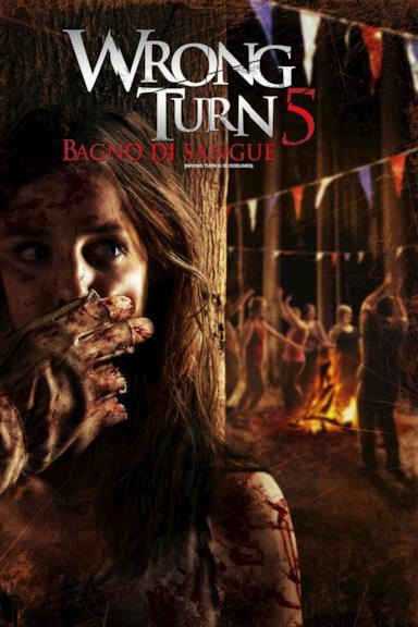 Poster Wrong Turn 5 - Bagno di sangue