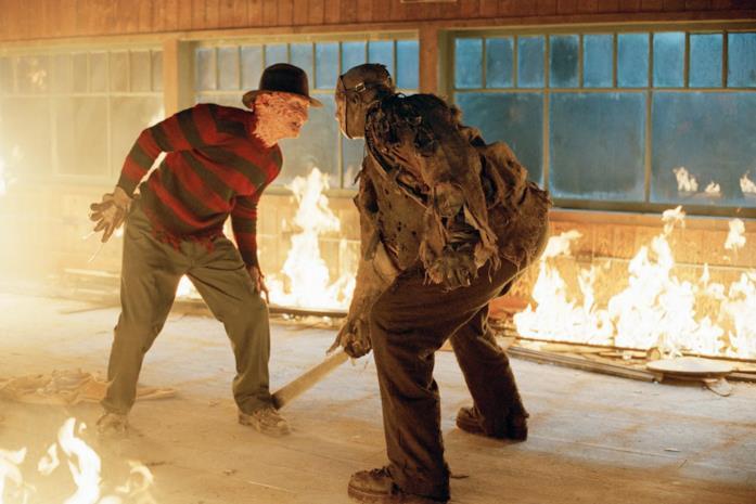 I due terribili mostri Freddy Krueger e Jason Voorhes