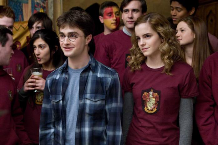 Harry e Hermione in Harry Potter e il Principe Mezzosangue