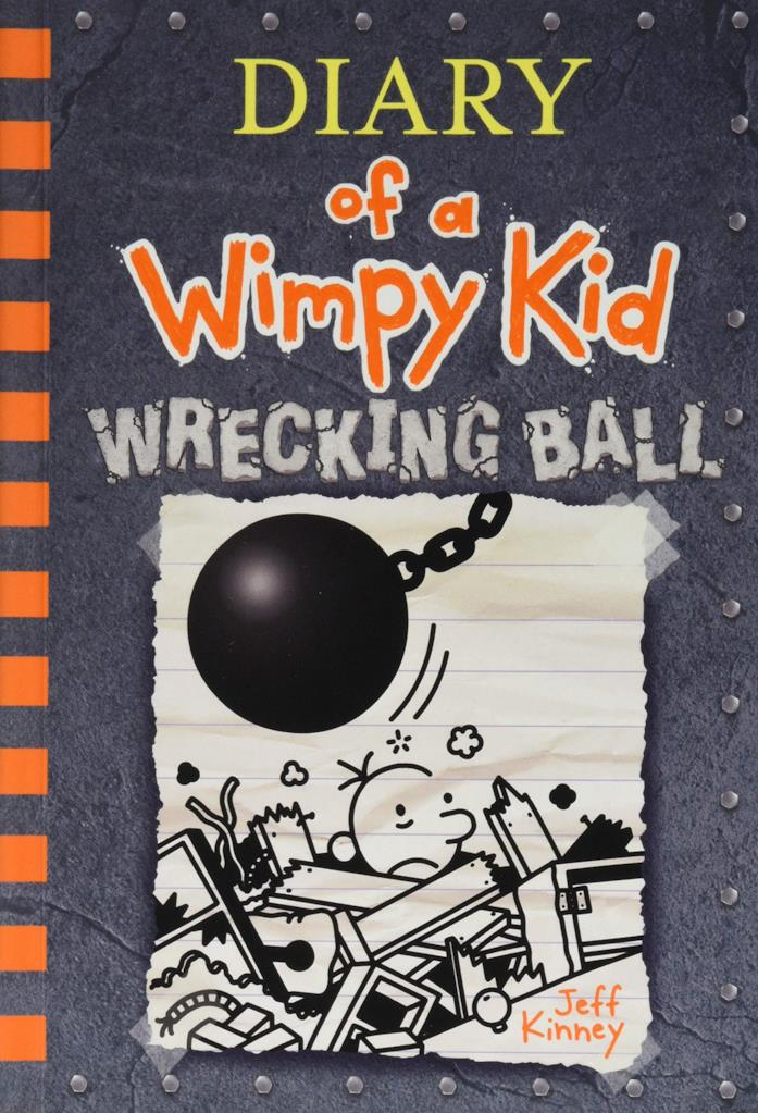 Wrecking Ball, il nuovo libro di Diario di una schiappa