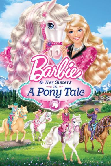 Poster Barbie e il cavallo leggendario