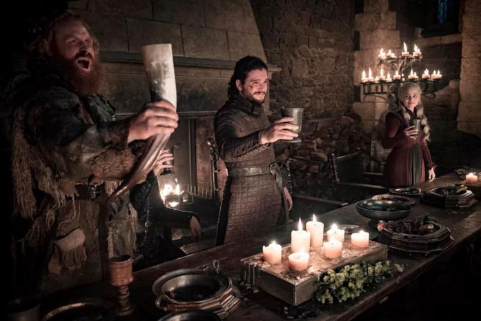 Un momento da Game of Thrones 8x04
