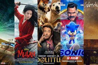 I poster di Ghostbusters - Legacy, Mulan, Dolittle, Sonic, Wendy