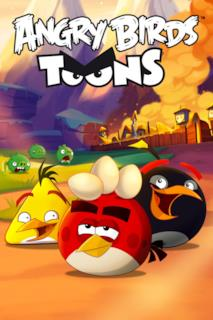 Poster Angry Birds Toons