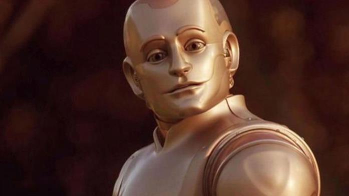 Un'immagine del film L'uomo bicentenario