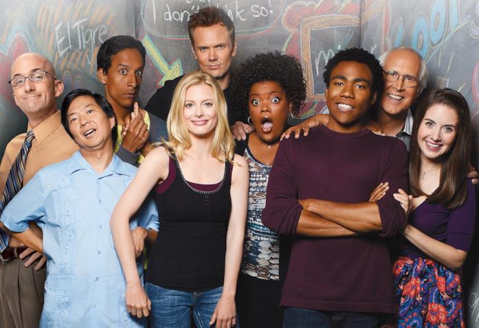 I protagonisti della serie TV Community