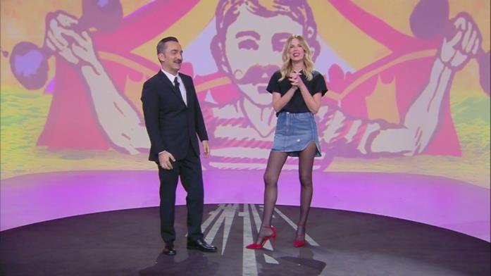 Alessia Marcuzzi a Le Iene