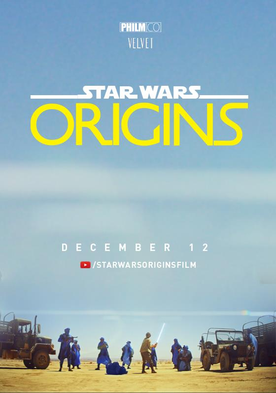 Il poster del fan film Star Wars: Origins