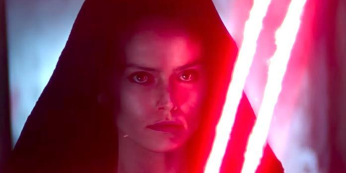"""Un primo piano della """"Dark Rey"""" di L'ascesa di Skywalker"""