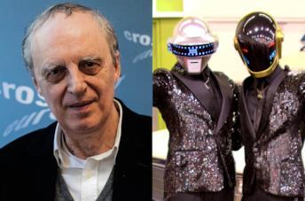 Collage Dario Argento Daft Punk