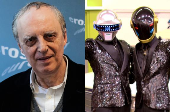 Collage Dario Argento Daft Punk