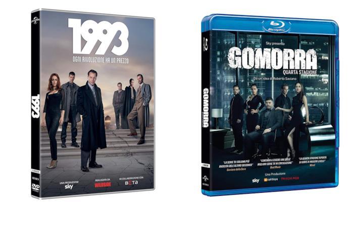 DVD e Blu-ray di Gomorra 4 e 1993