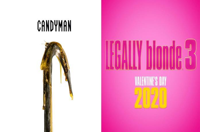 I poster di Candyman e Legally Blonde 3