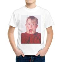 thedifferent T-Shirt Bambino Ragazzo Urlo Kevin Mccallister Mamma Ho Perso L'Aereo -