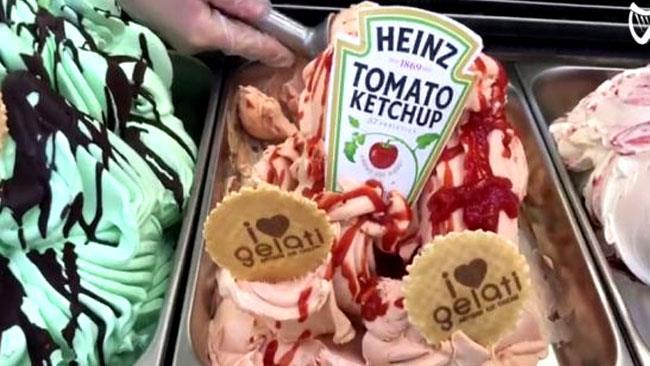 Ed Sheeran impazzirà per il gelato al gusto ketchup di Heinz?