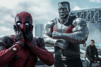 Una scena di Deadpool